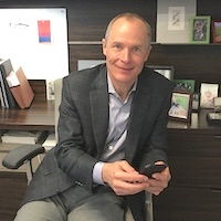 greg uses quiq for messaging customer service on his phone