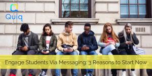 student customer service messaging