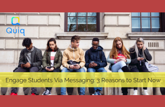 engage students with messaging