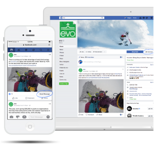 Facebook Messenger on laptop and on mobile gives your customers more ways to reach you