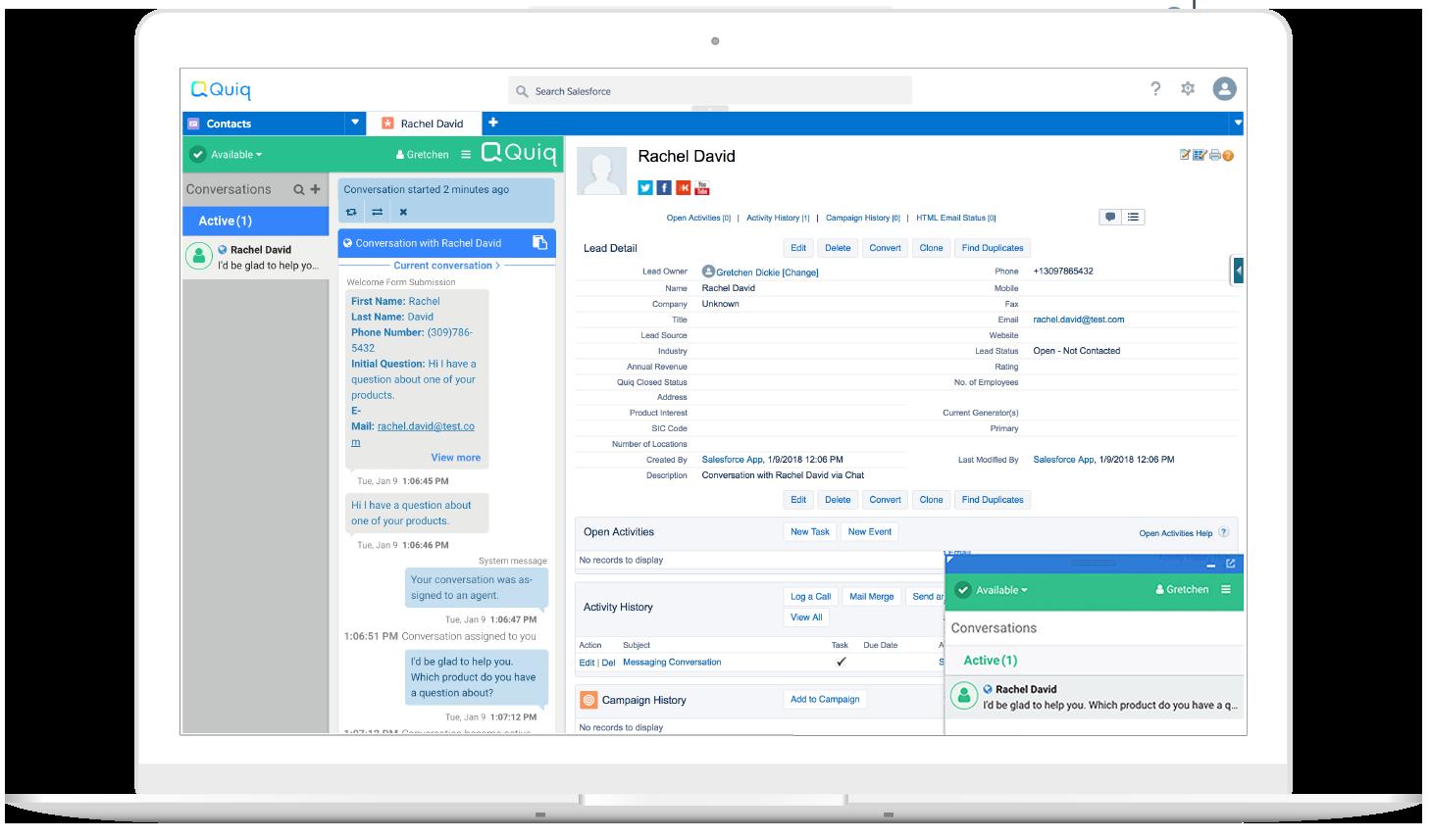 Salesforce: Salesforce Integration