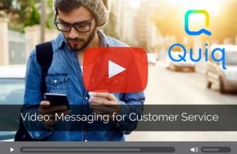 Quiq video brand