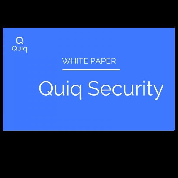 Quiq Security white paper
