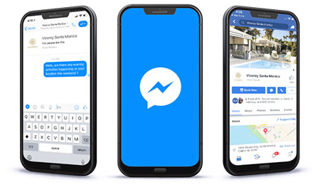 Facebook Messenger for customer service