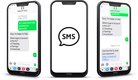 SMS business text messaging for customer service