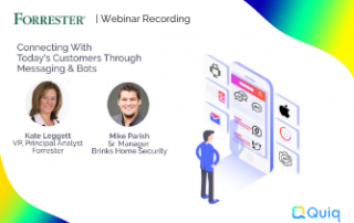 Connecting with today's customers through messaging and bots webinar recording