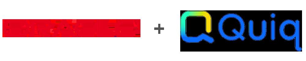 oracle + quiq logos