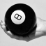 female holding Magic 8 ball to see the future of digital channels and business messaging