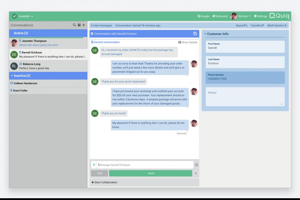 quiq_customer_engagement_business_messaging_platform