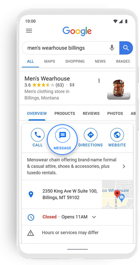 Googles_Business_Messages_Google_Search_2_Mens_Wearhouse_Business_Messaging