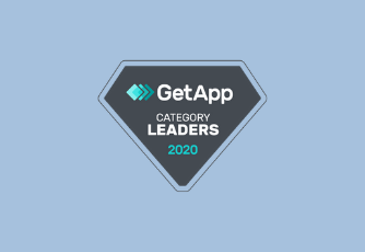 GetApp category leaders 2020 logo