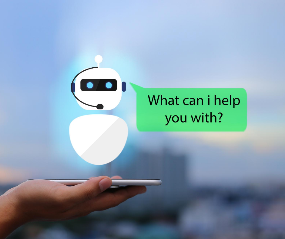 Automated customer service reps can help your directly from your phone messaging app