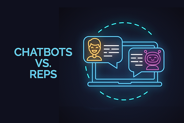 Chatbots vs Sales Reps - which is more effective?