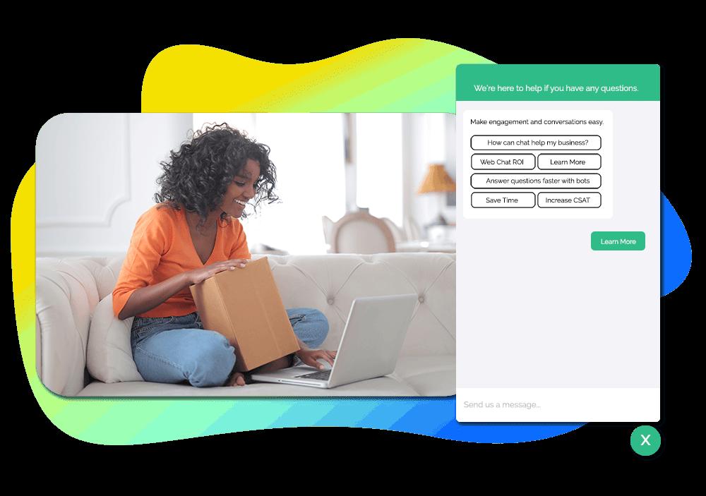 Live Chat Software Customer Engagement Platform Messaging Hero