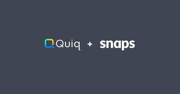 snaps partnership with Quiq