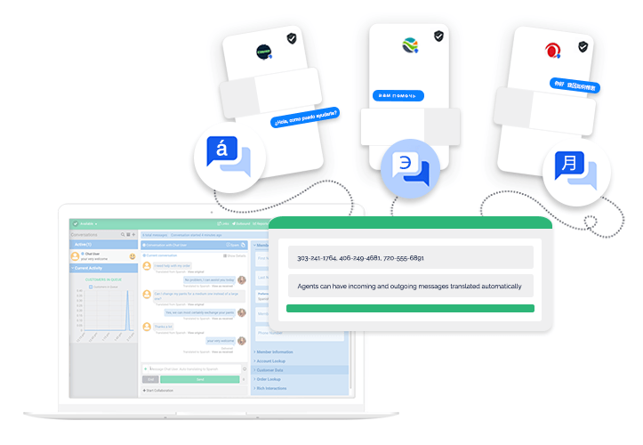 Translate Messaging Conversations Automatically Agent Efficiency Features